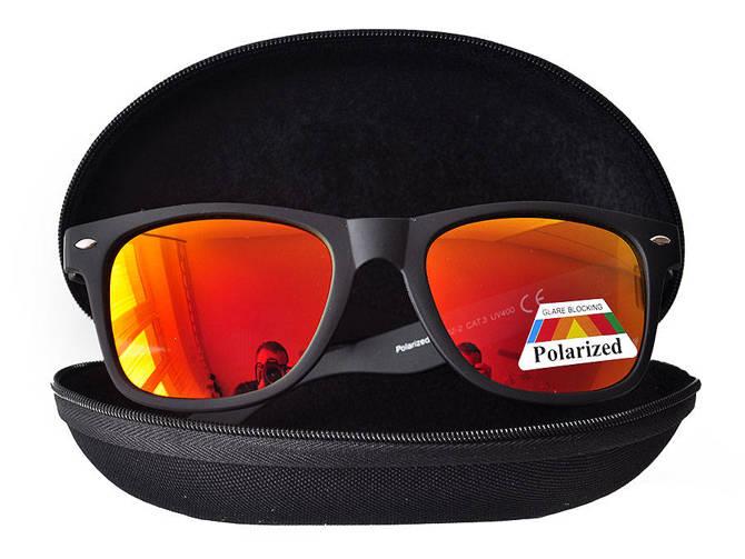 Okulary Polaryzacyjne Przeciwsłoneczne Wayfarer Orange 865C2-5